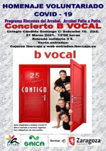 Cartel concierto B Vocal